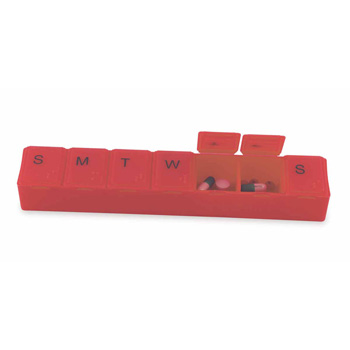 Super-7 All-Week Pill Box - 8""